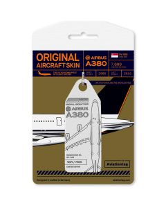 Aviationtag A380 Singapore Airlines - White