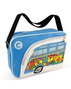 VW T1 Bus Shoulder Bag Landscape - Love Bus
