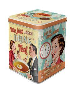 Nostalgic-Art Tea Tin Tea & Cookies Together