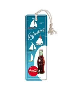 Nostalgic-Art Bookmark Coca-Cola - Bottle Hero Poster - Sailing Boats