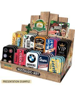Nostalgic-Art XL Mint Box Display