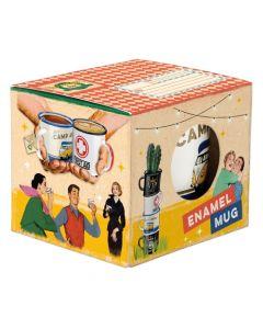 Nostalgic-Art Mug box - Enamel with window