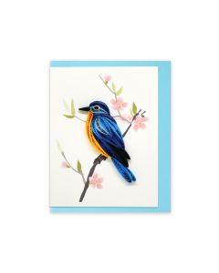 Quilled Mini Card Bird