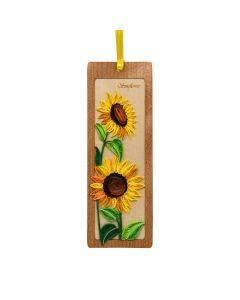 Quilled Bookmark Sunflower