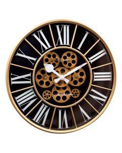 NeXtime William Wall Clock 50cm Black