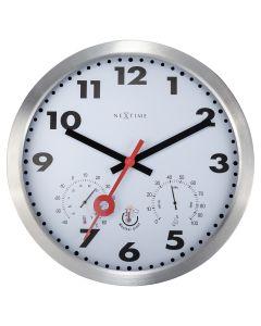 NeXtime Arabic Outdoor Wall Clock  35cm White