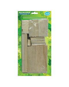 Balsa Wood Craft Assorted Pack