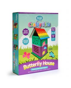 Crafty Kits Butterfly House Construction Project