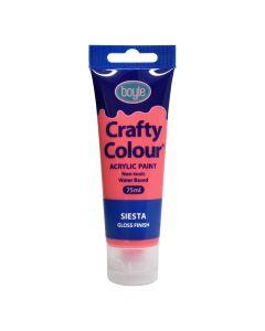 Crafty Colour Acrylic Paint 75ml Siesta